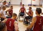 Latvijas ratiņbasketbola izlase uzsākusi gatavošanos Eiropas čempionātam