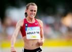 ASV vieglatlēte pie pozitīvām dopinga analīzēm vaino burito