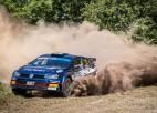 """Grjazins izcīna uzvaru """"Rally Liepaja"""", Sesks labākais ERC3 klasē"""