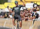 Polits izcīna karjeras pirmo uzvaru ''Tour de France'', Skujiņš - 63. vietā