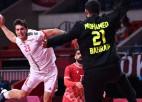 Spānijai uzvaras vārti pēdējā sekundē, Portugāle salauž Bahreinas handbolistu sirdis