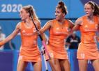 Sieviešu lauka hokeja apakšgrupu posmā nevainojamas Nīderlande un Austrālija