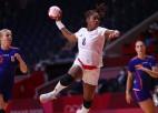 Francijas handbolistes aizsūta mājās pasaules čempioni Nīderlandi