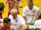 Latvijas volejbola izlase Rīgā vēlreiz pieveic Somiju