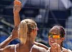 Latvijas stiprākie pludmales volejbola dueti ierodas uz Eiropas čempionātu Vīnē