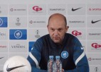 """Video: Morozs: """"Tagad mūsu izredzes ir labākas, nekā tās bija pirms pirmās spēles Beļģijā"""""""