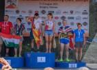 Puķīte izcīnījusi divas zelta medaļas pasaules veterānu čempionātā