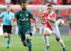 """""""Slavia"""" un """"Legia"""" rezultatīvs neizšķirts, Džerārda """"Rangers"""" izmoka uzvaru pār armēņiem"""