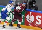 Rihards Bukarts ieradīsies svētdien, pārējie Latvijas izlases hokejisti jau Rīgā