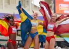 Video: Pēdējā piegājienā Sopova izrauj U20 PČ bronzu trīssoļlēkšanā