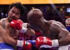 Leģendārais veterāns Pakjao atgriešanās cīņā zaudē Ugasam un neatgūst WBA titulu