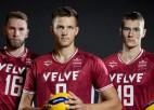 Latvijas volejbola izlase priekšpēdējā pārbaudē atzīst grieķu pārākumu