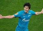 Divu galvaspilsētu derbijā ''Zenit'' mača galotnē izrauj uzvaru pret CSKA