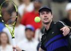 """Ranga 117. numurs van de Zandshulps no kvalifikācijas sasniedz """"US Open"""" ceturtdaļfinālu"""
