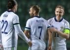 Igaunija piekāpjas ziemeļīriem, spāņus pieveikusī Zviedrija pārspēj Uzbekistānu