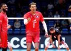 Francijas uzvara pār Igauniju Latvijas volejbolistiem atnes EČ astotdaļfinālu