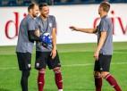 Latvija Pasaules kausa kvalifikācijas otro apli ievadīs Melnkalnē