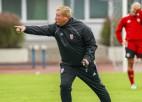 Sieviešu izlases treneris Kvačovs: ''Spēlējām ar vienu no Eiropas labākajām komandām''