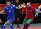 Portugāle izglābjas pret Kazahstānu, pirmoreiz sasniedzot Pasaules kausa finālu