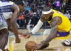 """NBA pirmssezona: """"Lakers"""" noslēdz ar 0-6; Jangam 27+15 trīs ceturtdaļās"""