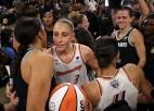 Dusmīgā Taurasi salauž durvis pēc zaudējuma WNBA finālā