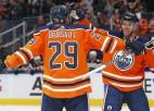"""Makdeivids un Draizaitls dominē Edmontonā, Ēriksonam """"hat-trick"""" """"Wild"""" uzvarā"""