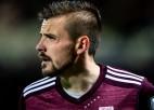 Latvijas futbola izlase FIFA rangā atkāpusies par vienu pozīciju