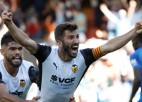 """""""Valencia"""" kompensācijas laikā atspēlē 0:2, Eiropas līgas uzvarētāja """"Villarreal"""" zaudē Bilbao"""
