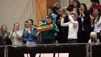 """""""VEF Rīgas skolu superlīgas"""" čempioni """"Četrdesmitdevītie"""" tiek cauri ar izbīli"""