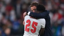 """Anglijas treneris Sautgeits: """"Pilnībā uzņemos atbildību par pendeļu sēriju"""""""