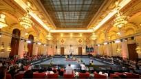3x3 basketbols ekskluzīvā vietā - parlamenta pilī