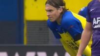 Uldriķis kļūst par pirmo latvieti, kurš guvis vārtus Nīderlandes čempionātā