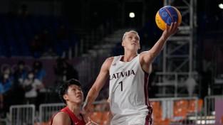 Miezim trešā vieta FIBA pasaules rangā 3x3 basketbolā