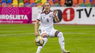 Latvijas futbolistes PK kvalifikācijā kapitulē arī Ziemeļmaķedonijai