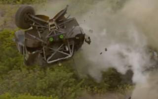"""Video: """"Extreme E"""" sacīkstēs piedzīvota līdz šim iespaidīgākā avārija"""
