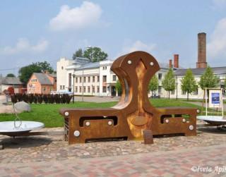 Foto: Vecpilsētas laukums Jēkabpilī