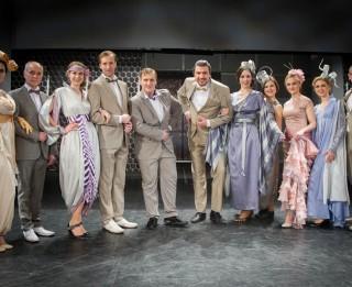 Foto: <i>Latvijas Operetes fonds</i> iestudējis Paula Abrahama džezisko opereti <i>Balle Savojā</i>