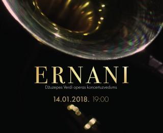 """Izcilas zvaigznes Džuzepes Verdi operas """"Ernani"""" koncertuzvedumā Latvijas Nacionālajā operā"""