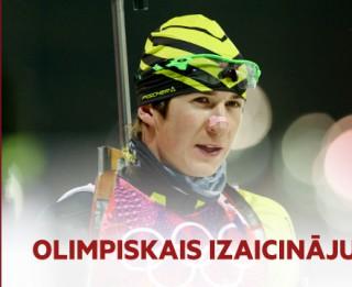 Video: Olimpiskais reportieris izaicina Latvijas labākos biatlonistus