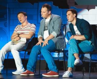 """Šosestdien Rīgā Comedy Club rezidenti - trio """"Smirnovs, Ivanovs, Soboļevs"""""""