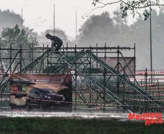 Stiprs lietus un brāzmains vējš – Lucavsalā aizvadīts MyFitness Madness Race