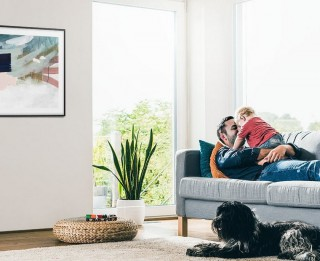 Mūsdienu televizori funkcionē arī izslēgtā veidā