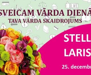 Tava vārda skaidrojums un ietekme uz likteni. 25. decembris – Stella, Larisa