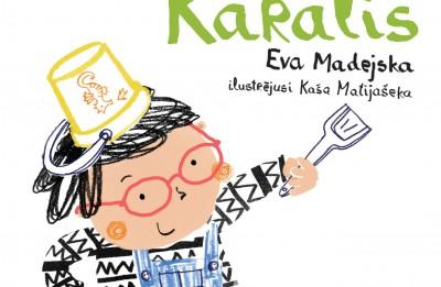 """Izdota bērnu grāmata no Polijas """"Karalis"""""""