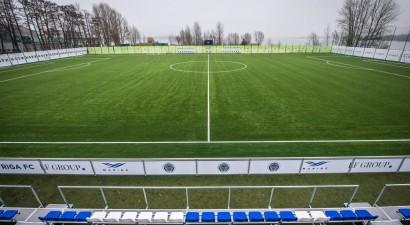 """""""Riga"""" Mežaparkā noslēgusi stadiona izbūvi, sestdien tajā notiks Virslīgas spēle"""