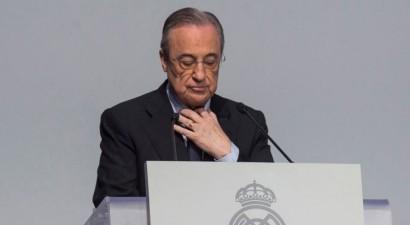 """Florentino Peress uz sesto termiņu pārvēlēts """"Real Madrid"""" prezidenta krēslā"""