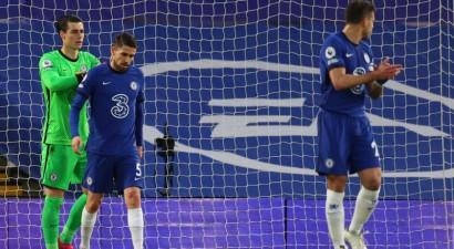 """Žoržinju <i>atved</i> vārtus, """"Chelsea"""" neizmanto pārsvaru un zaudē """"Arsenal"""""""