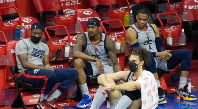 """""""Wizards"""" sezona beigusies, otrajā kārtā iekļūst Filadelfija, Jūta un Atlanta"""