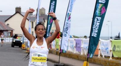 Par 19 sekundēm labots pasaules rekords pusmaratonā sievietēm
