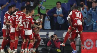 ''Celta'' iesit trīs otrajā puslaikā un svin trešo uzvaru ''La Liga'' sezonā